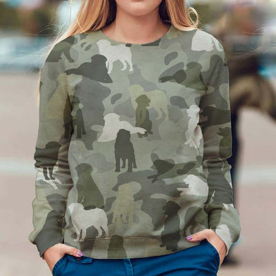 Bernese Mountain Dog - Camo - Premium Sweatshirt