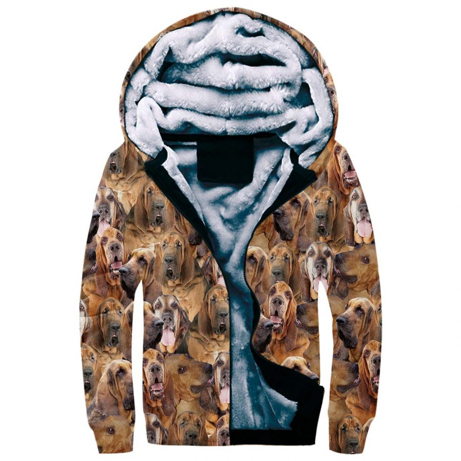 Bloodhound Full Face Fleece Hoodie