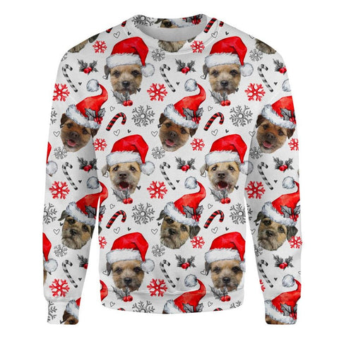 Border Terrier Xmas Decor Sweatshirt