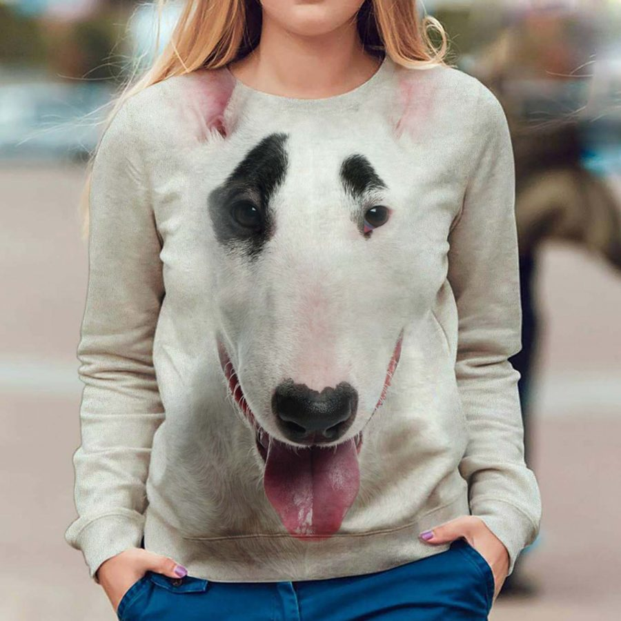 Bull Terrier - Face Hair - Premium Sweatshirt
