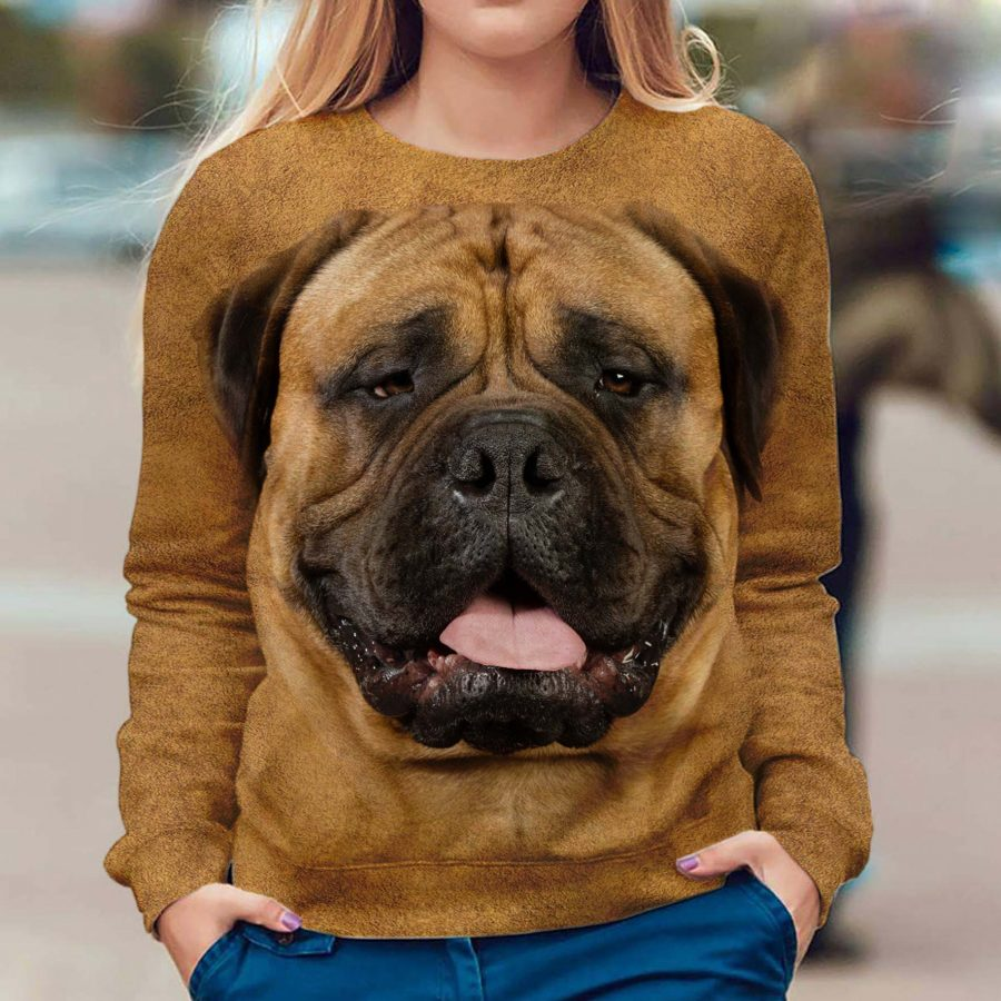 Bullmastiff - Face Hair - Premium Sweatshirt