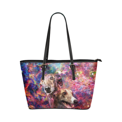 Greyhound Leather Tote Bag