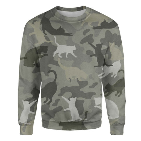 Cat Camo Sweatshirt