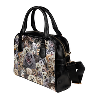 Havanese Face Shoulder Handbag