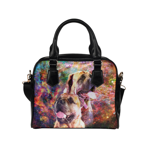 English Mastiff Yin Yang Shoulder Handbag