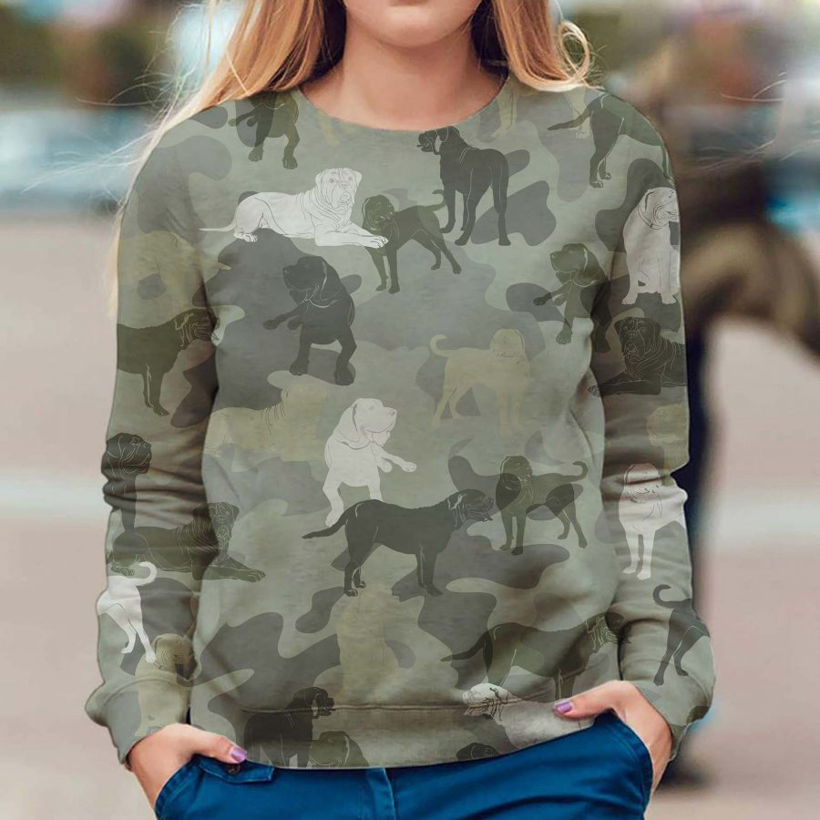Dogue de Bordeaux - Camo - Premium Sweatshirt