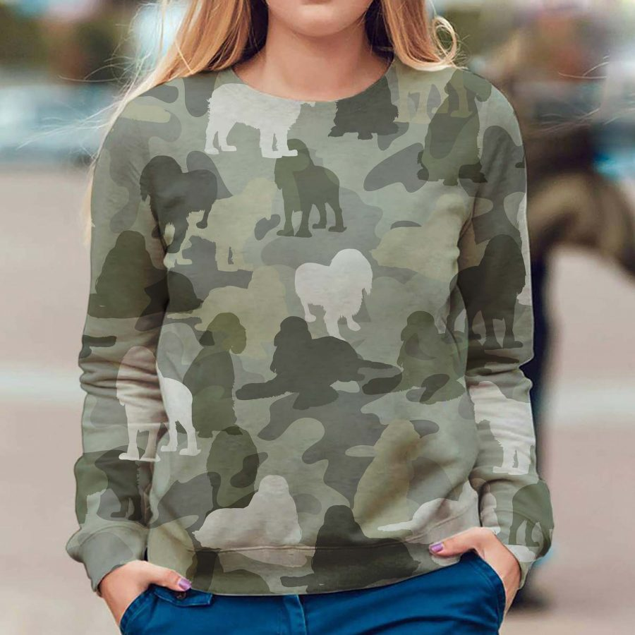 English Cocker Spaniel - Camo - Premium Sweatshirt