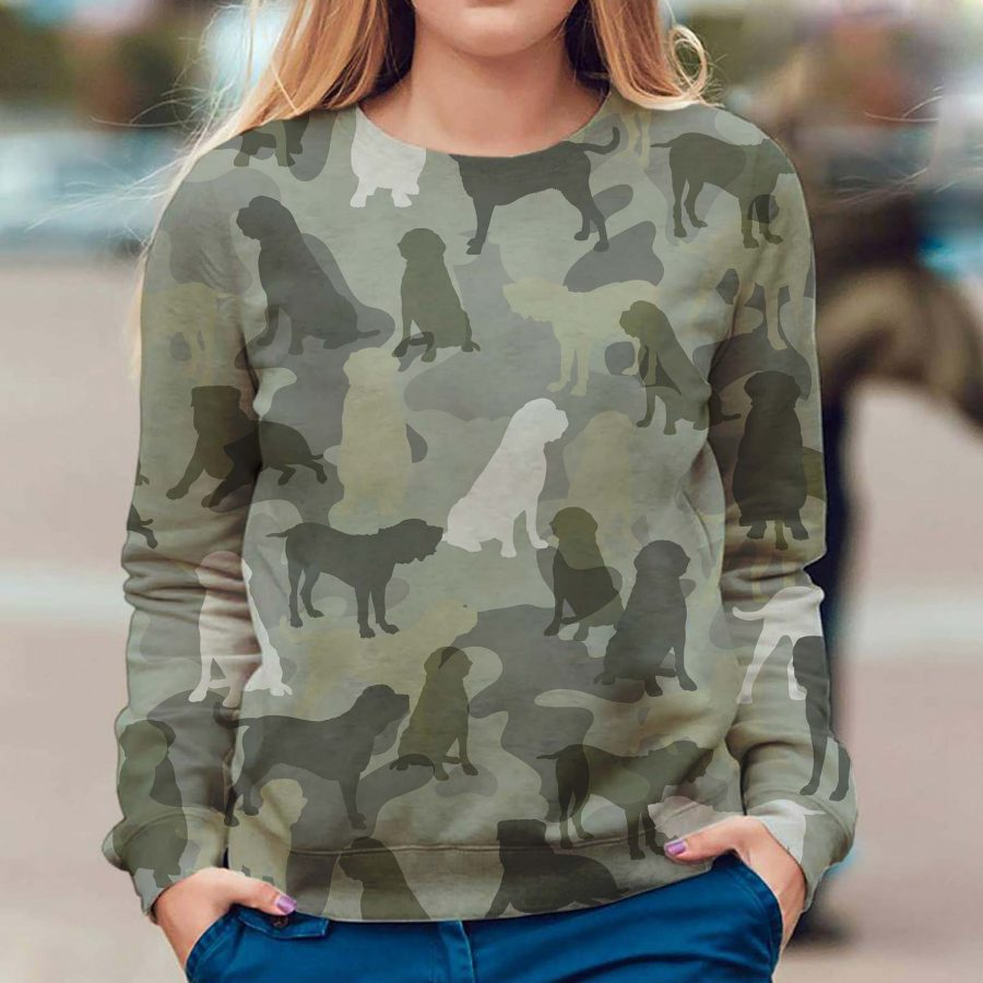 English Mastiff - Camo - Premium Sweatshirt