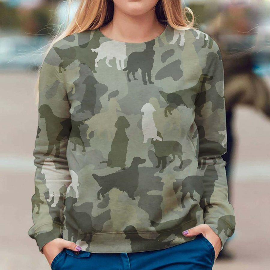 English Setter - Camo - Premium Sweatshirt