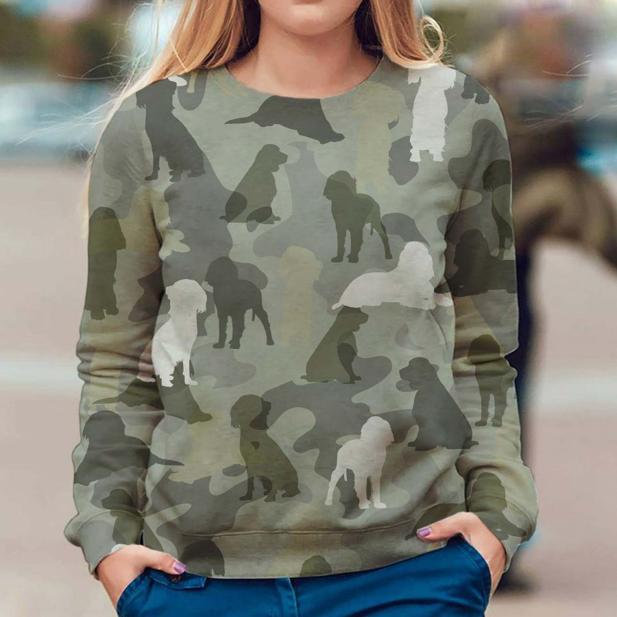 English Springer Spaniel - Camo - Premium Sweatshirt