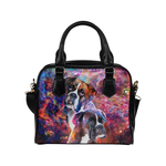 Boxer Yin Yang Shoulder Handbag
