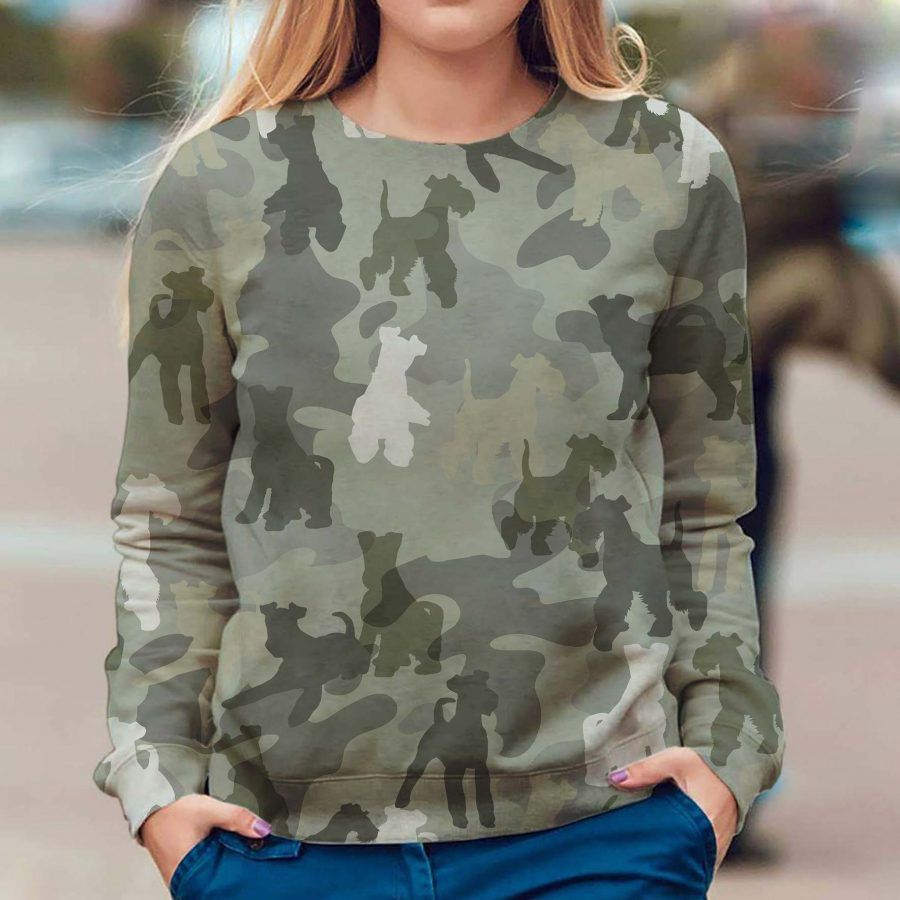 Fox Terrier - Camo - Premium Sweatshirt