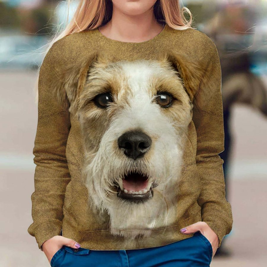 Fox Terrier - Face Hair - Premium Sweatshirt