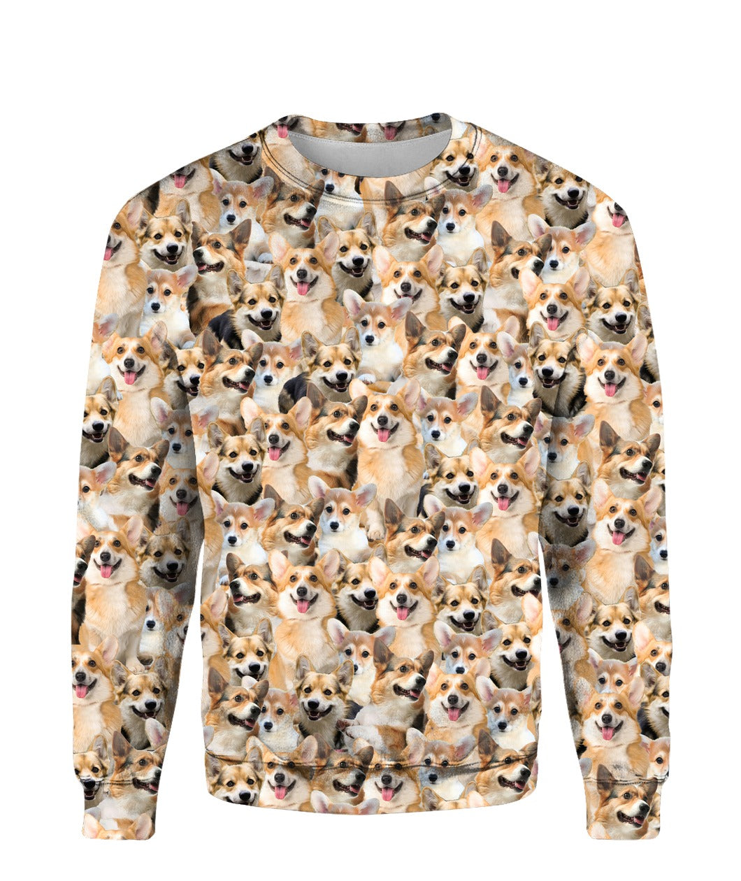 Welsh Corgi - Full Face - Premium Sweatshirt
