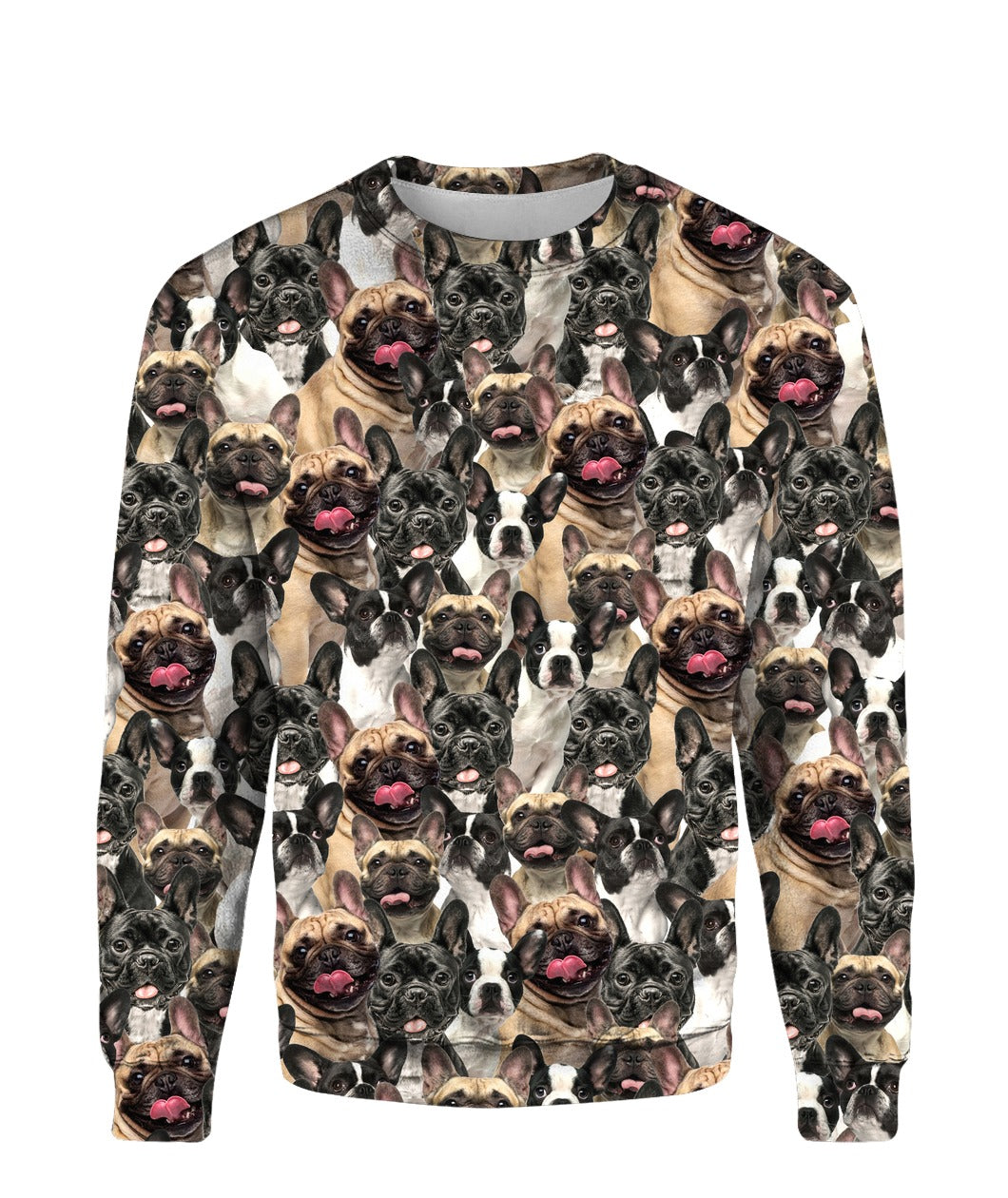 French Bulldog - Full Face - Premium Sweatshirt