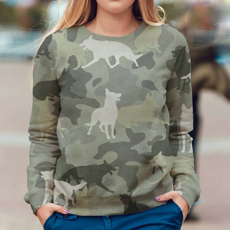 German Shepherd - Camo - Premium Sweatshirt