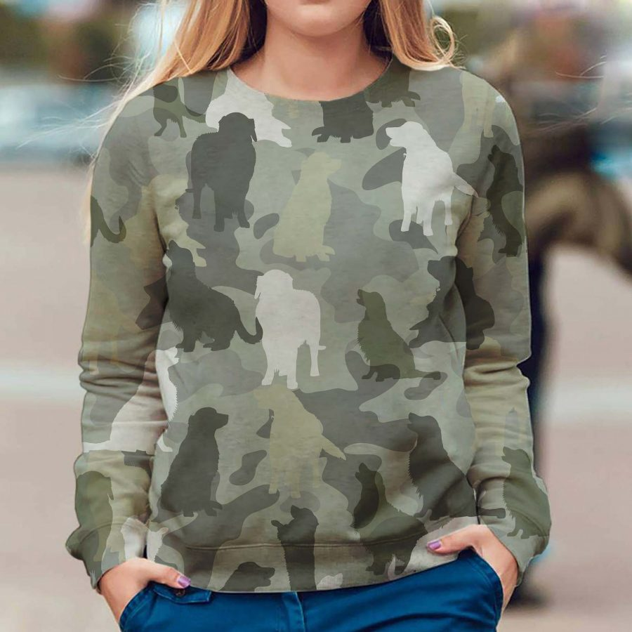 Golden Retriever - Camo - Premium Sweatshirt