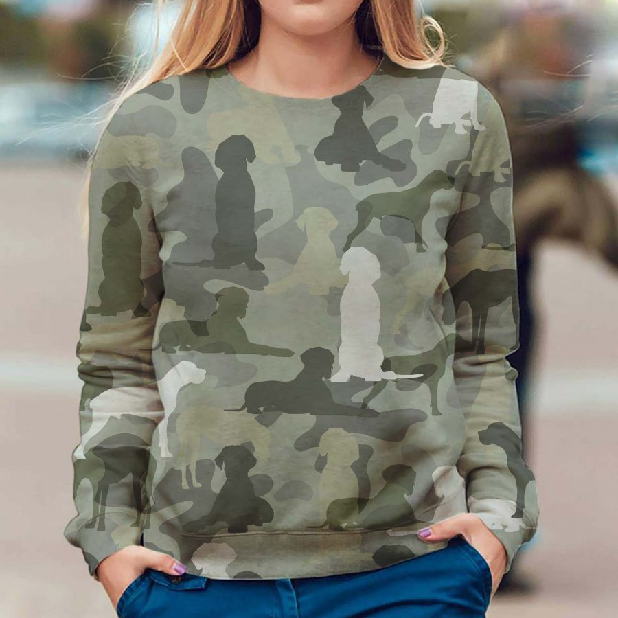 Great Dane - Camo - Premium Sweatshirt