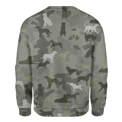 Greater Swiss Mountain - Camo - Premium Sweatshirt