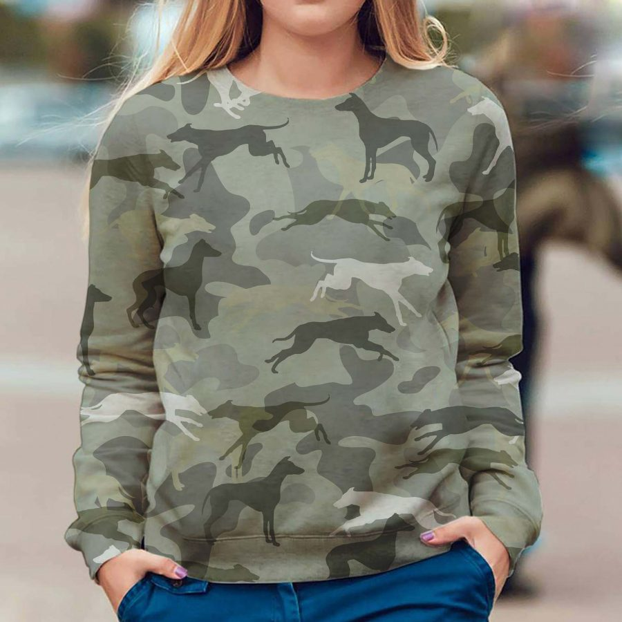 Greyhound - Camo - Premium Sweatshirt