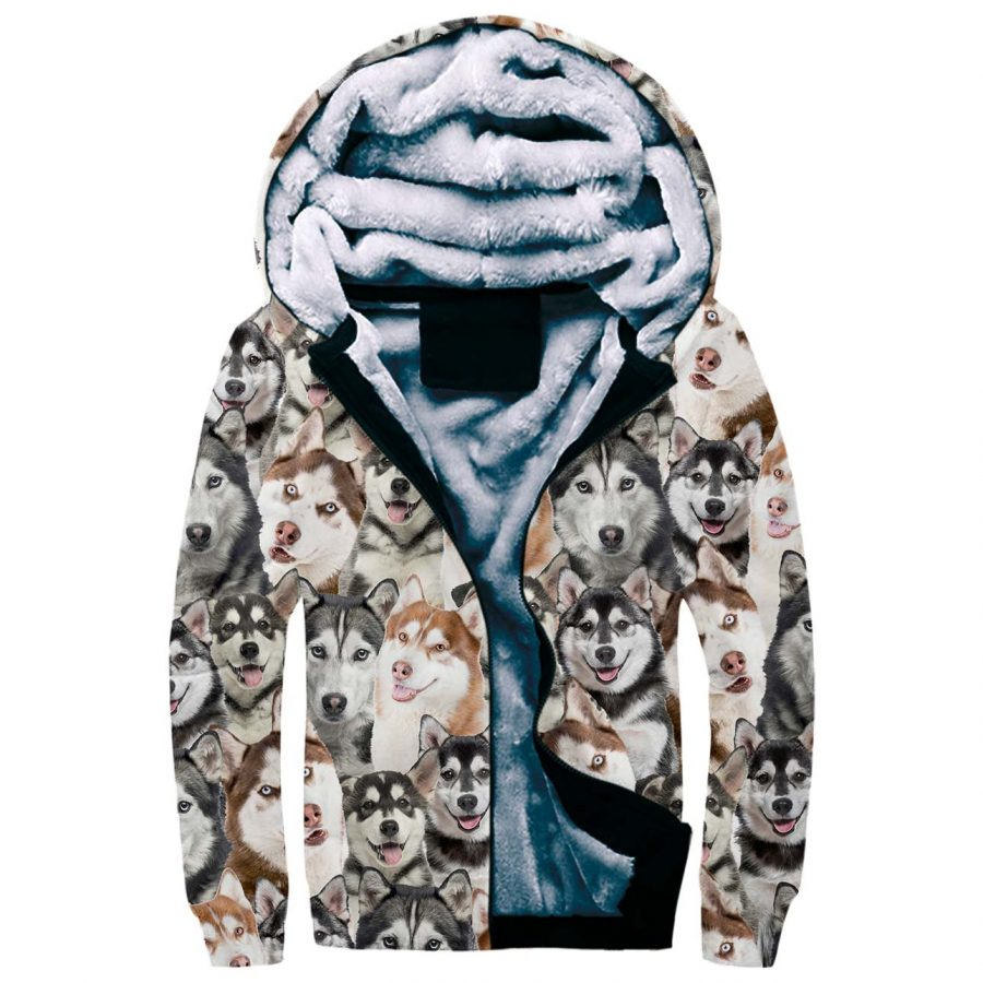 Husky Full Face Fleece Hoodie