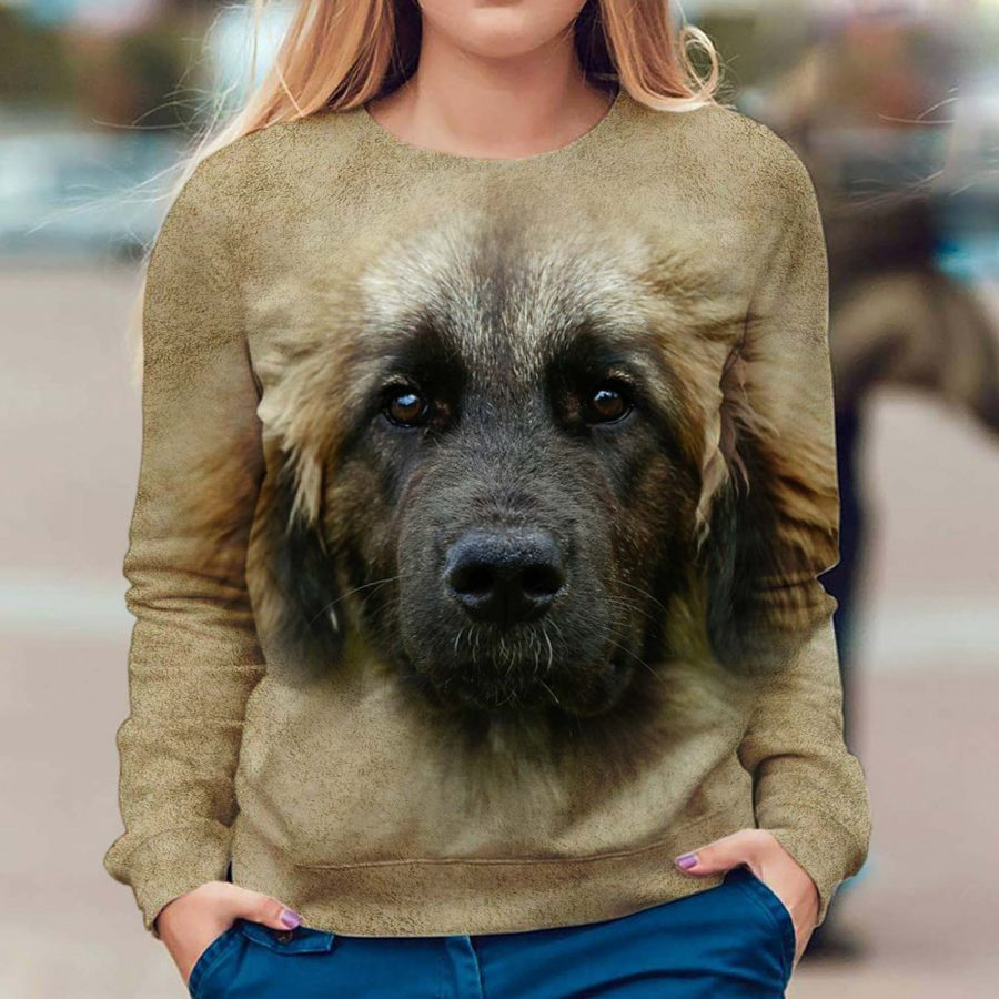Leonberger - Face Hair - Premium Sweatshirt