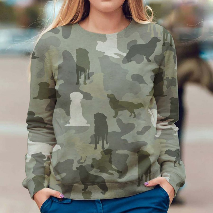 Nova Scotia Duck Tolling Retriever - Camo - Premium Sweatshirt