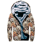Otterhound Full Face Fleece Hoodie