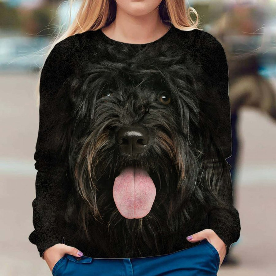 Portuguese Water Dog - Face Hair - Premium Sweatshirt