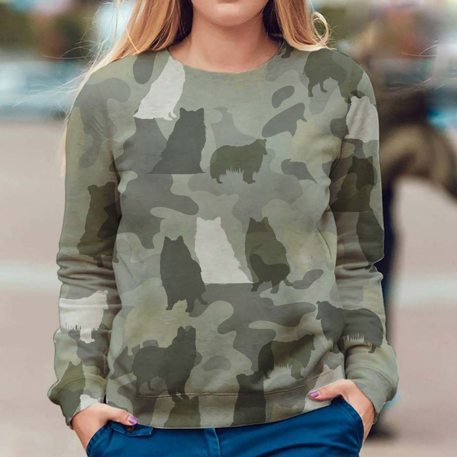 Rough Collie - Camo - Premium Sweatshirt