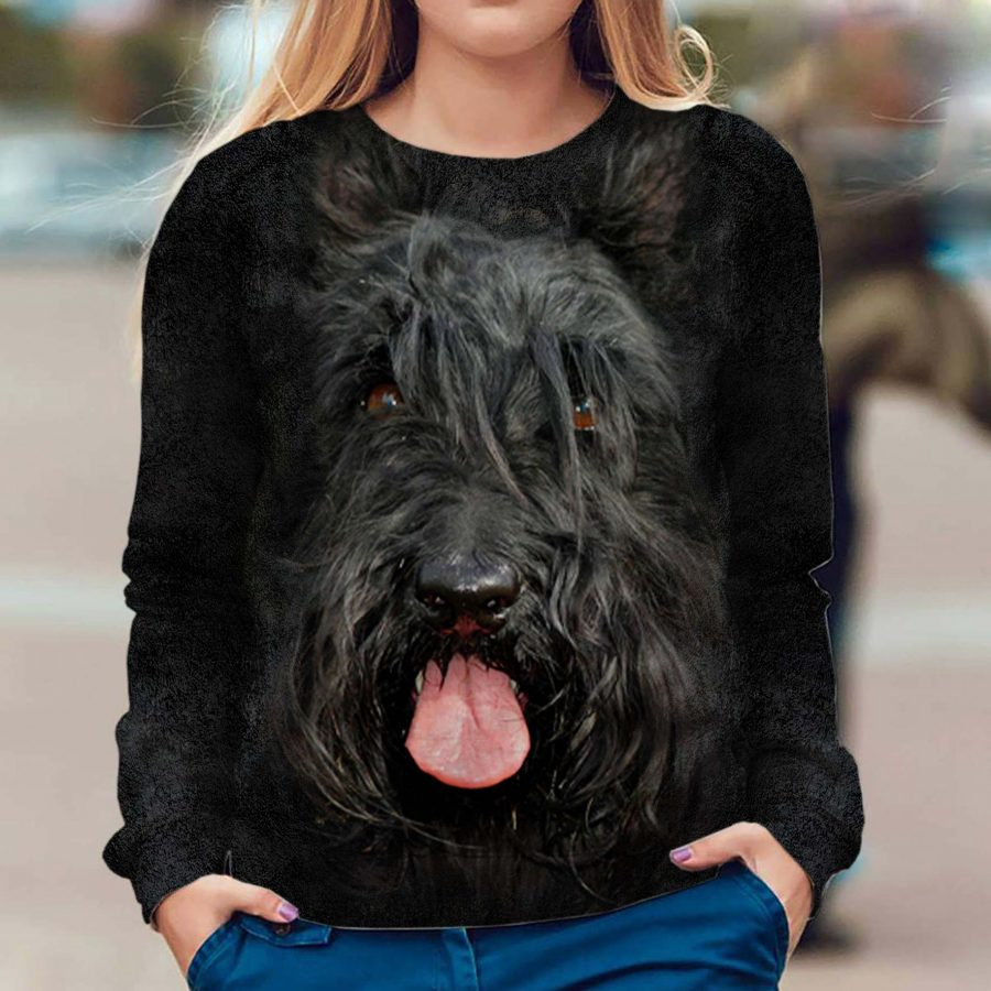 Scottish Terrier - Face Hair - Premium Sweatshirt