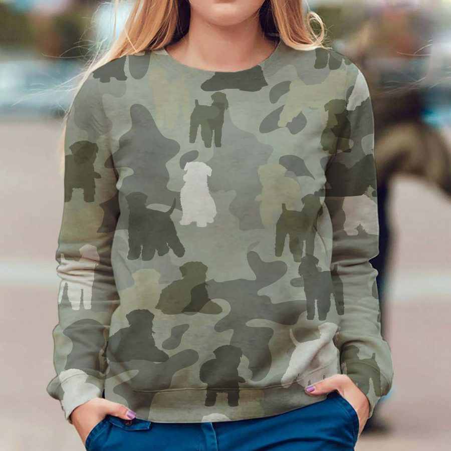 Soft-coated Wheaten Terrier - Camo - Premium Sweatshirt