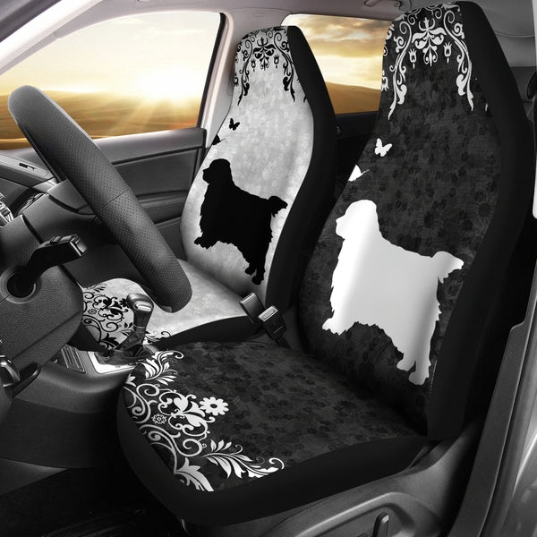 Clumber Spaniel - Car Seat Covers