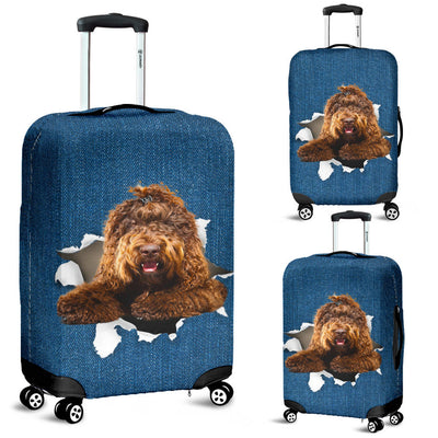 Barbet Torn Paper Luggage Covers