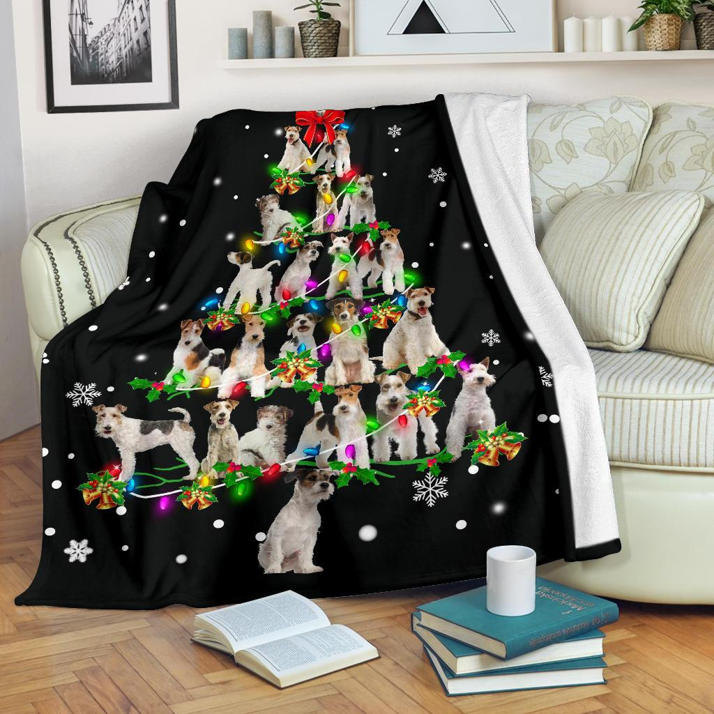 Fox Terrier Christmas Tree