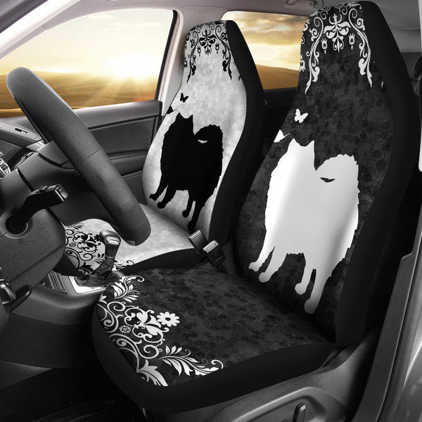 American Eskimo - Car Seat Covers