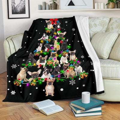 French Bulldog Christmas Tree