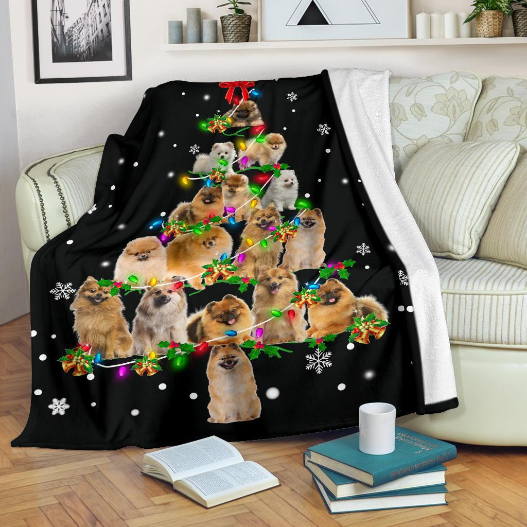 German Spitz Christmas Tree