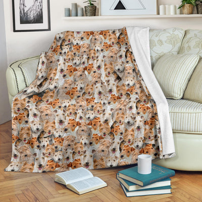 Fox Terrier Full Face Blanket