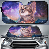 Cat Sky Night - Auto Sun Shades