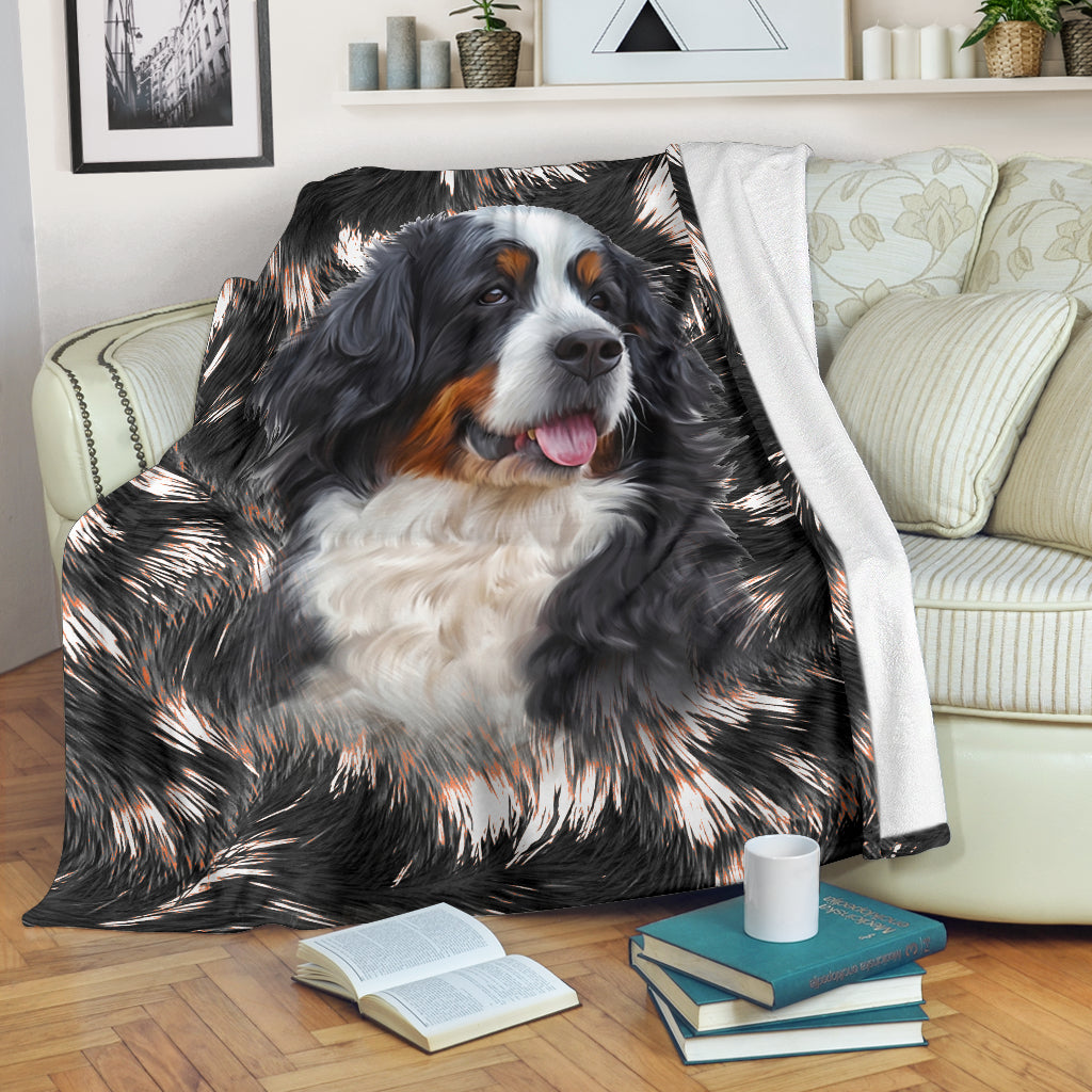 Bernese Mountain - Blanket - 1140