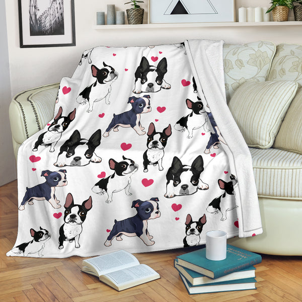 Boston Terrier - Blanket - 1014