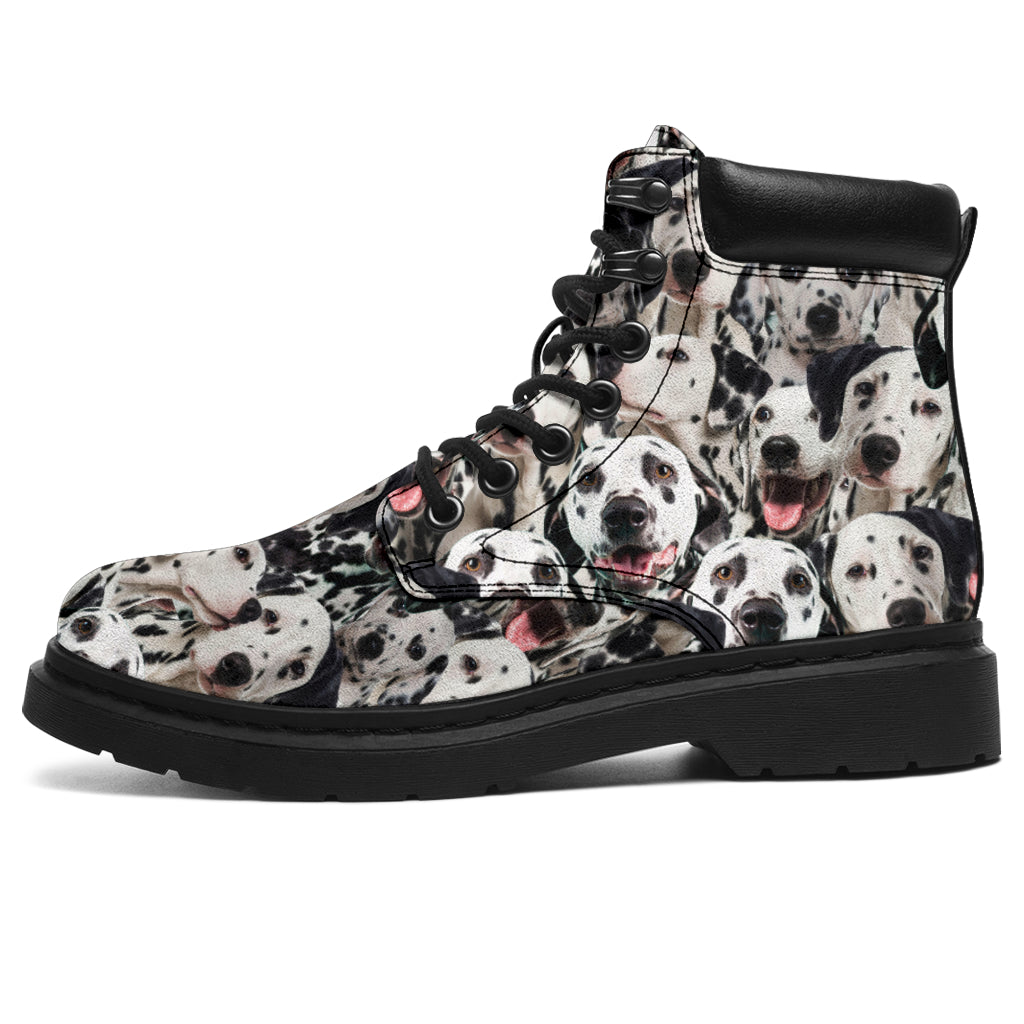 Dalmatian Full Face All-Season Boots