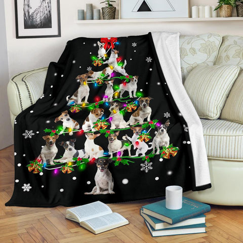 Jack Russell Terrier Christmas Tree
