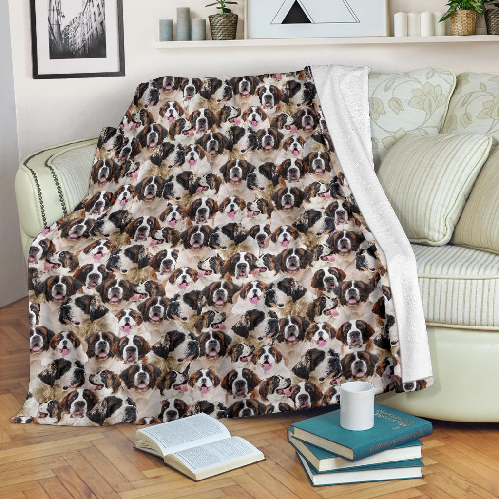 St Bernard Full Face Blanket