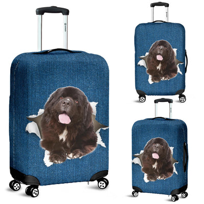 Newfoundland Torn Paper Luggage Covers