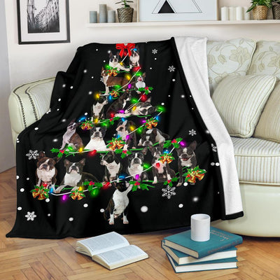 Boston Terrier Christmas Tree