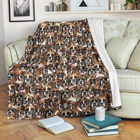 Boxer Full Face Blanket