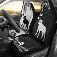 American Bulldog - Car Seat Covers