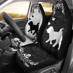 Maltese dog - Car Seat Covers